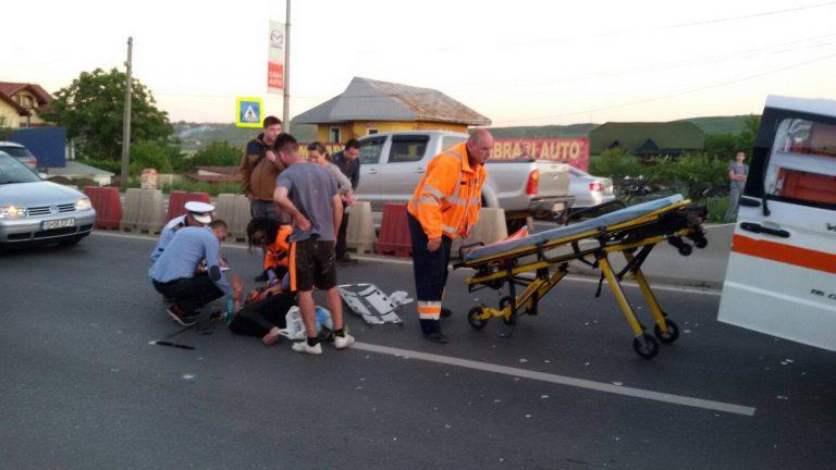 Localnicii din Valea Lupului spun NU accidentelor rutiere! Vor pasarele pietonale