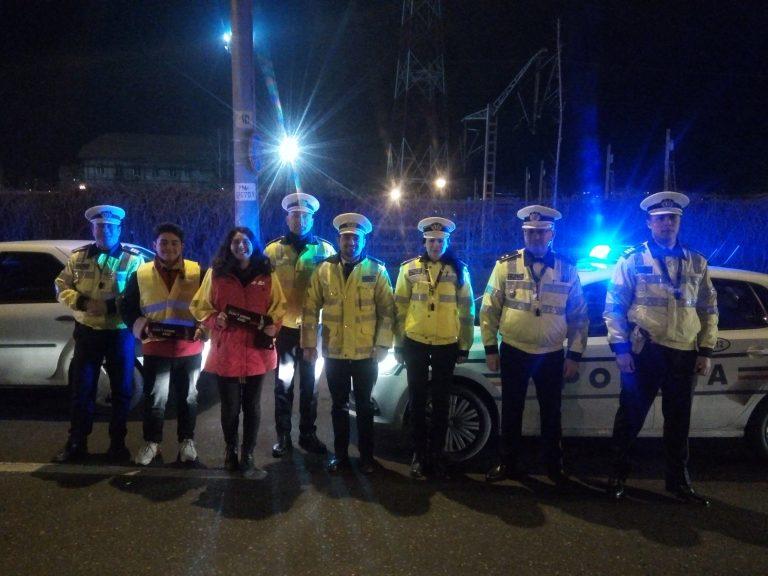 Joi seara, 300 de şoferi ieşeni au fost testaţi cu alcooltestul. Întreg Biroul Rutier Iaşi a ieşit în stradă FOTO