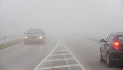 Atenţie la ceaţă, în Iaşi! Sfaturi de la poliţişti pentru şofatul în siguranţă