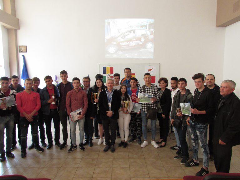 Concurs inedit de educaţie rutieră la Colegiul Tehnic Mihail Sturdza Iaşi
