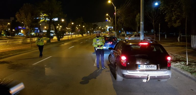 Beție pe străzile din Iași! Polițiștii au prins 18 șoferi băuți vineri noapte FOTO